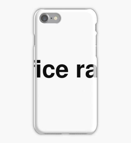 office rage iPhone Case/Skin