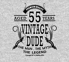 Vintage Dud Aged 55 Years Unisex T-Shirt