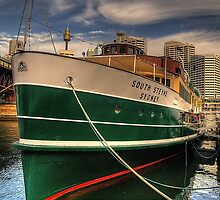 Old and Still Reliable - SS South Steyne, Sydney Australia by Philip Johnson