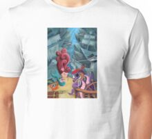 Mermaid and Pirates Unisex T-Shirt