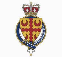 Coat of arms (family crest) for last-name or surname Witherspoon or Widderspoons (Scotland) . Heraldry banner for your name. Kids Clothes