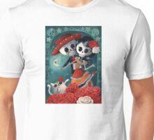 Dia de Los Muertos Couple of Skeleton Lovers Unisex T-Shirt
