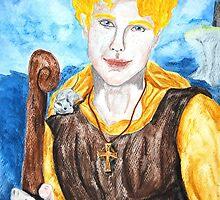 Saint Cainneach by Rowan  Lewgalon