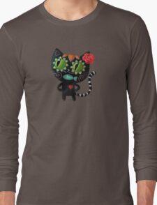 Black Cat of The Dead Long Sleeve T-Shirt