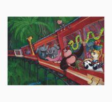 Animal Jungle Train Kids Clothes