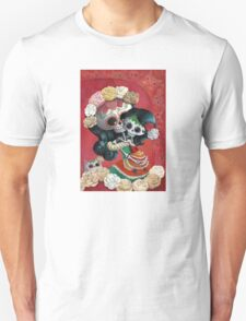 Mexican Skeletons Mother and Daughter T-Shirt