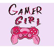 Gamer Girl Photographic Print