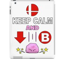 Kirby Stone : Smash Bros SSB4 iPad Case/Skin