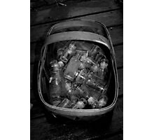 the sale basket Photographic Print