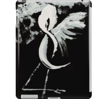 0025 - Brush and Ink - Near Forest Line iPad Case/Skin