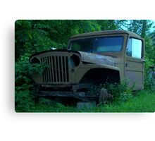 old jeep Canvas Print