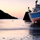 Port Isaac Sunset by Swell Photography