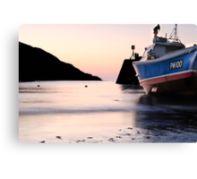 Port Isaac Sunset Canvas Print