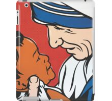 Mother Teresa and Child iPad Case/Skin