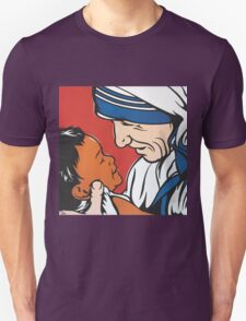 Mother Teresa and Child Unisex T-Shirt