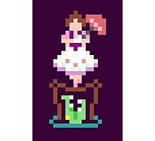 8-bit Haunted Mansion Tightrope Girl Photographic Print