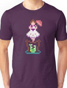8-bit Haunted Mansion Tightrope Girl Unisex T-Shirt