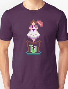 8-bit Haunted Mansion Tightrope Girl T-Shirt