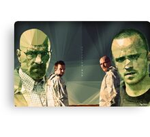 Heisenberg & Jesse Canvas Print