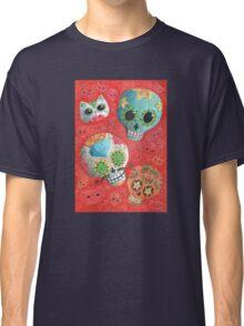 Colourful Sugar Skulls Classic T-Shirt