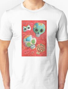 Colourful Sugar Skulls T-Shirt