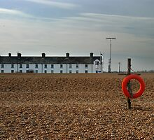 Shingle Street, Suffolk by Christopher Cullen