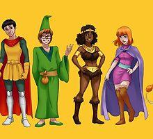 Dungeons & Dragons  by sirllamalot