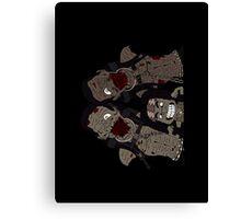 Michonne & her Pets Canvas Print