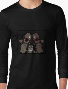 Michonne & her Pets Long Sleeve T-Shirt
