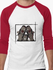 Michonne & her Pets Men's Baseball ¾ T-Shirt