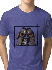 Michonne & her Pets Tri-blend T-Shirt
