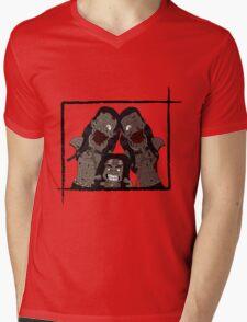 Michonne & her Pets Mens V-Neck T-Shirt