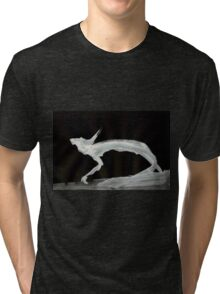 0024 - Brush and Ink - Ever Forward The Motion Tri-blend T-Shirt