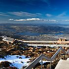 Mt Wellington, Hobart, Tasmania by Matthew Stewart