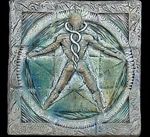 Spiral five: subtle energy  by Mona Shiber