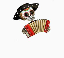 Mexican Skeleton Musician Unisex T-Shirt