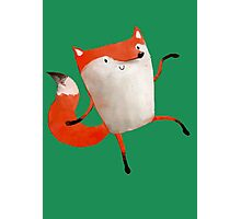 Happy Dancing Fox Photographic Print
