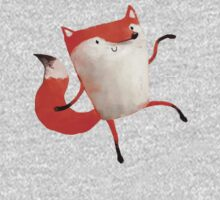 Happy Dancing Fox Baby Tee