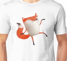 Happy Dancing Fox Unisex T-Shirt