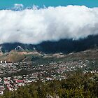 Cape Town Panorama, South Africa by Roger Barnes