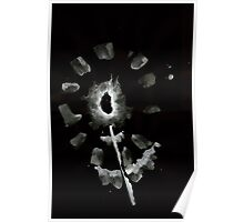 0032 - Brush and Ink - Second Flower Poster