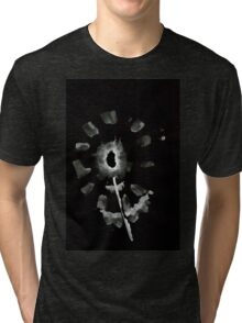 0032 - Brush and Ink - Second Flower Tri-blend T-Shirt