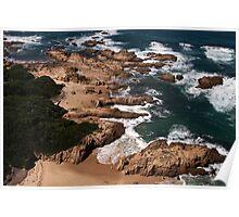 Beach near Knysna Heads, Western Cape, South Africa Poster