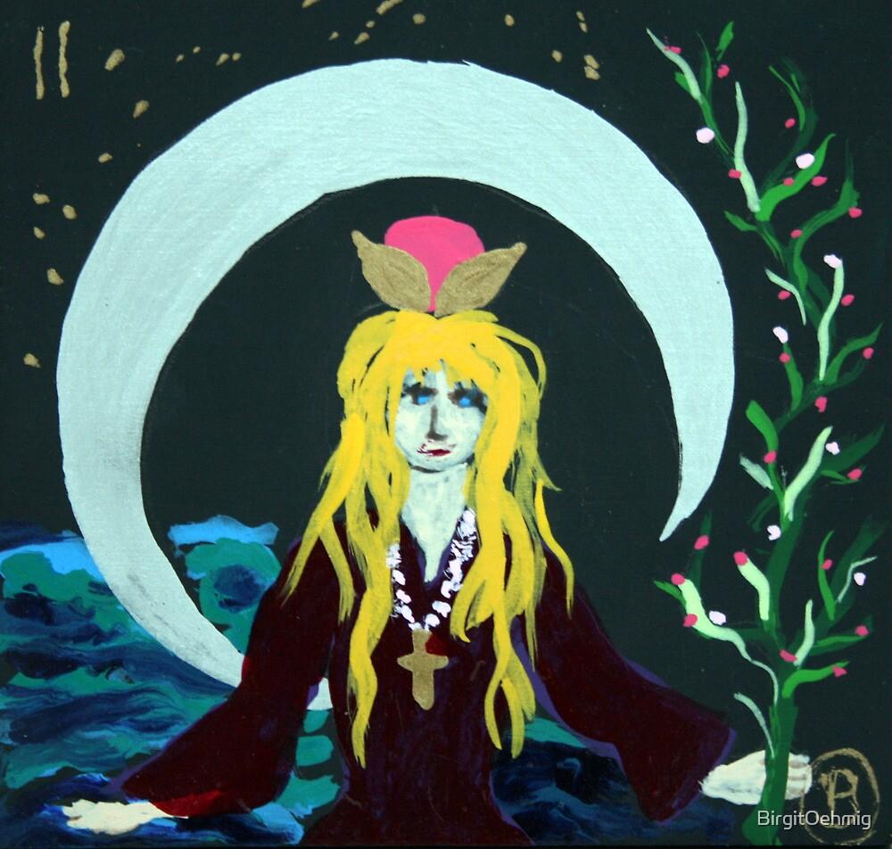 The High Priestess by Oehmig Birgit