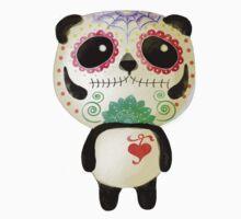 El Dia de Los Muertos Panda Kids Clothes
