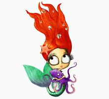 Red Hair Spooky Mermaid T-Shirt