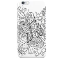 Flowerdoodle 3 iPhone Case/Skin