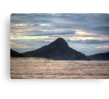 Fingal Bay Mountain (Nelson Bay/Shoal Bay area) at Sunset Canvas Print