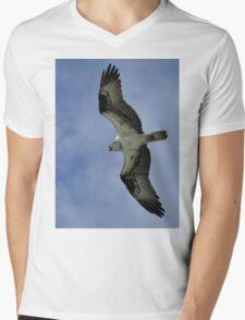 Osprey in Flight Mens V-Neck T-Shirt