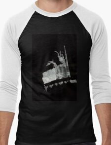 0028 - Brush and Ink - Field Play Men's Baseball ¾ T-Shirt
